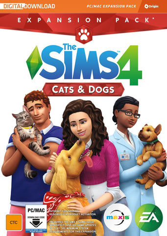 The Sims 4 Cats and Dogs (Code in Box) - PC Games