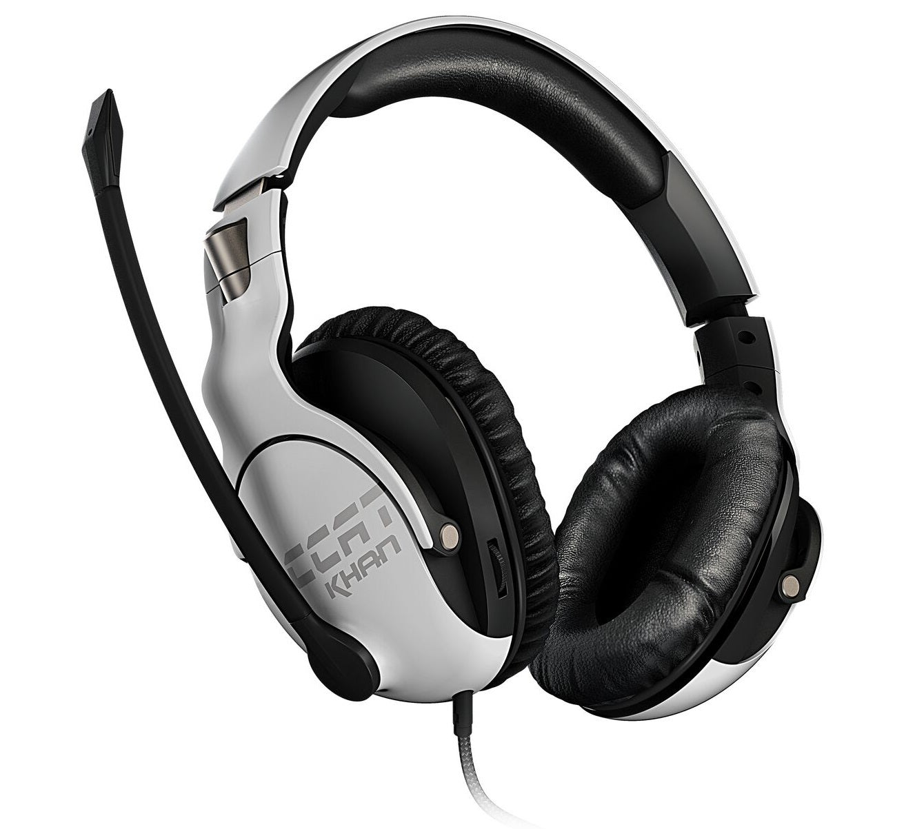 ROCCAT Khan Pro Gaming Headset - White - PC Games