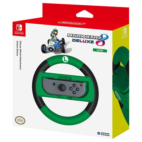 Hori Nintendo Switch Mario Kart 8 Deluxe Wheel - Luigi - Nintendo Switch