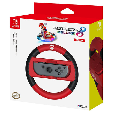 Hori Nintendo Switch Mario Kart 8 Deluxe Wheel - Mario - Nintendo Switch