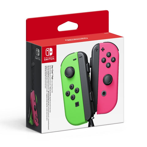 Nintendo Switch Joy-Con Neon Green/ Neon Pink Controller Set - Nintendo Switch