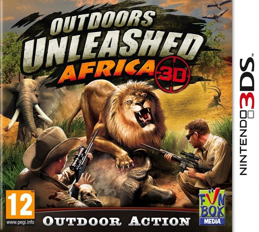 Outdoors Unleashed: Africa 3D - Nintendo 3DS