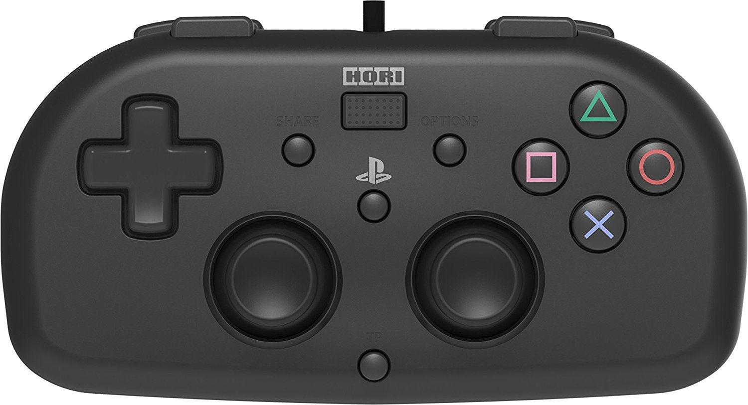 PS4 Mini Wired Gamepad (Black) by Hori - PS4