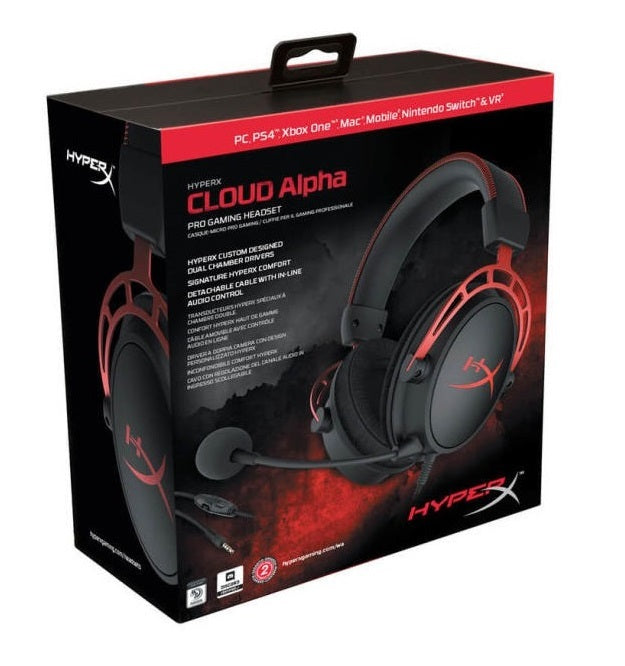 HyperX Cloud Alpha - Gaming Headset (Red) - Xbox One