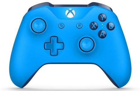 Xbox One Wireless Controller - Blue (with Bluetooth) - Xbox One