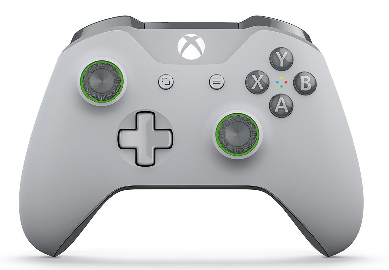 Xbox One Wireless Controller - Grey/Green (with Bluetooth) - Xbox One
