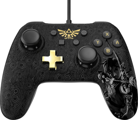 Nintendo Switch Core Wired Controller - Zelda - Nintendo Switch