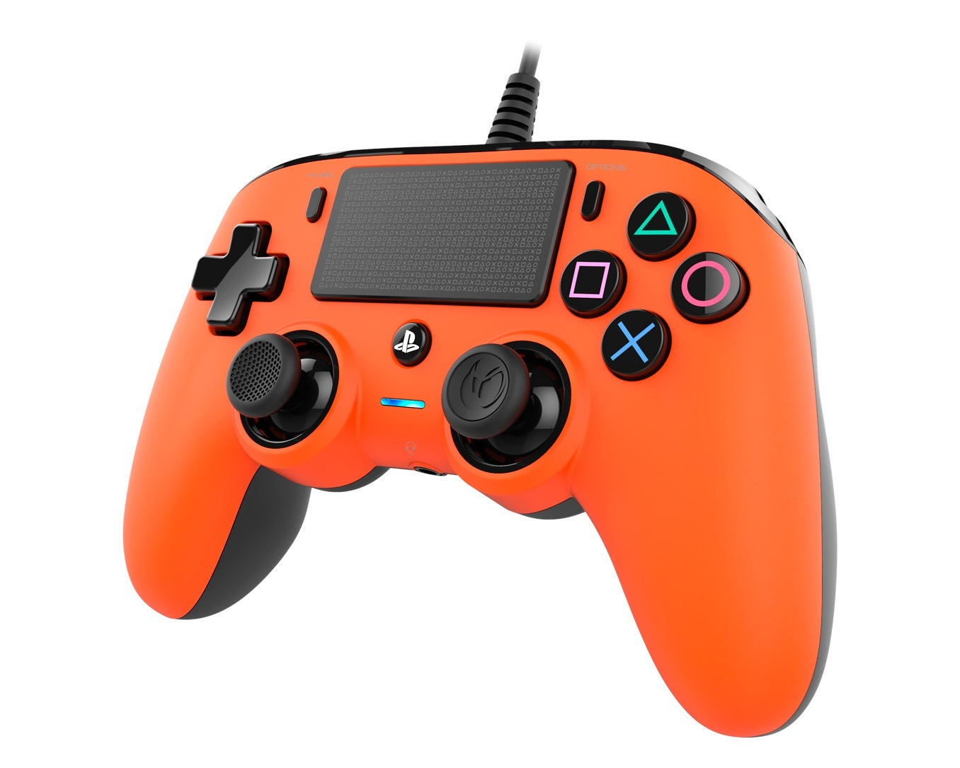 Nacon PS4 Wired Gaming Controller - Orange - PS4