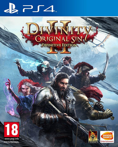 Divinity: Original Sin 2 Definitive Edition - PS4