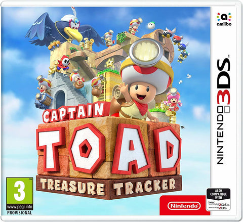 Captain Toad Treasure Tracker - Nintendo 3DS