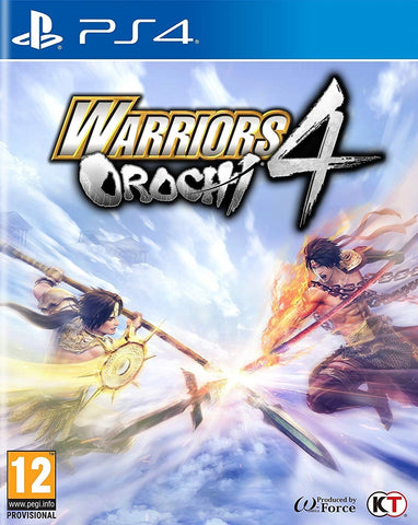 Warriors Orochi 4 - PS4