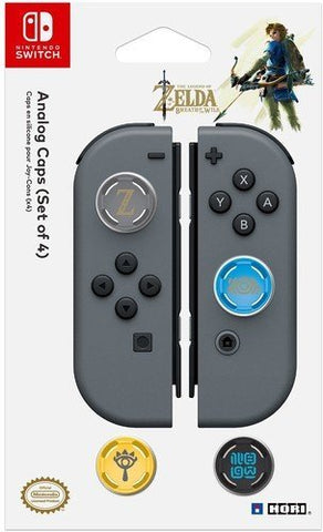 Hori Analogue Caps Zelda Breath of the Wild Edition - Nintendo Switch
