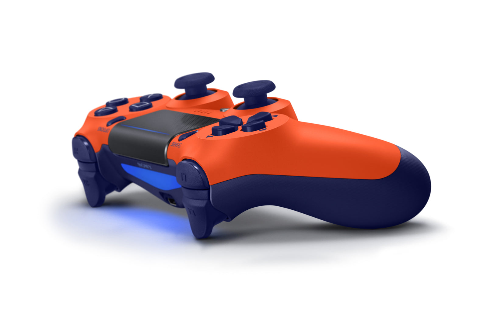 PlayStation 4 DualShock 4 v2 Wireless Controller - Sunset Orange - PS4
