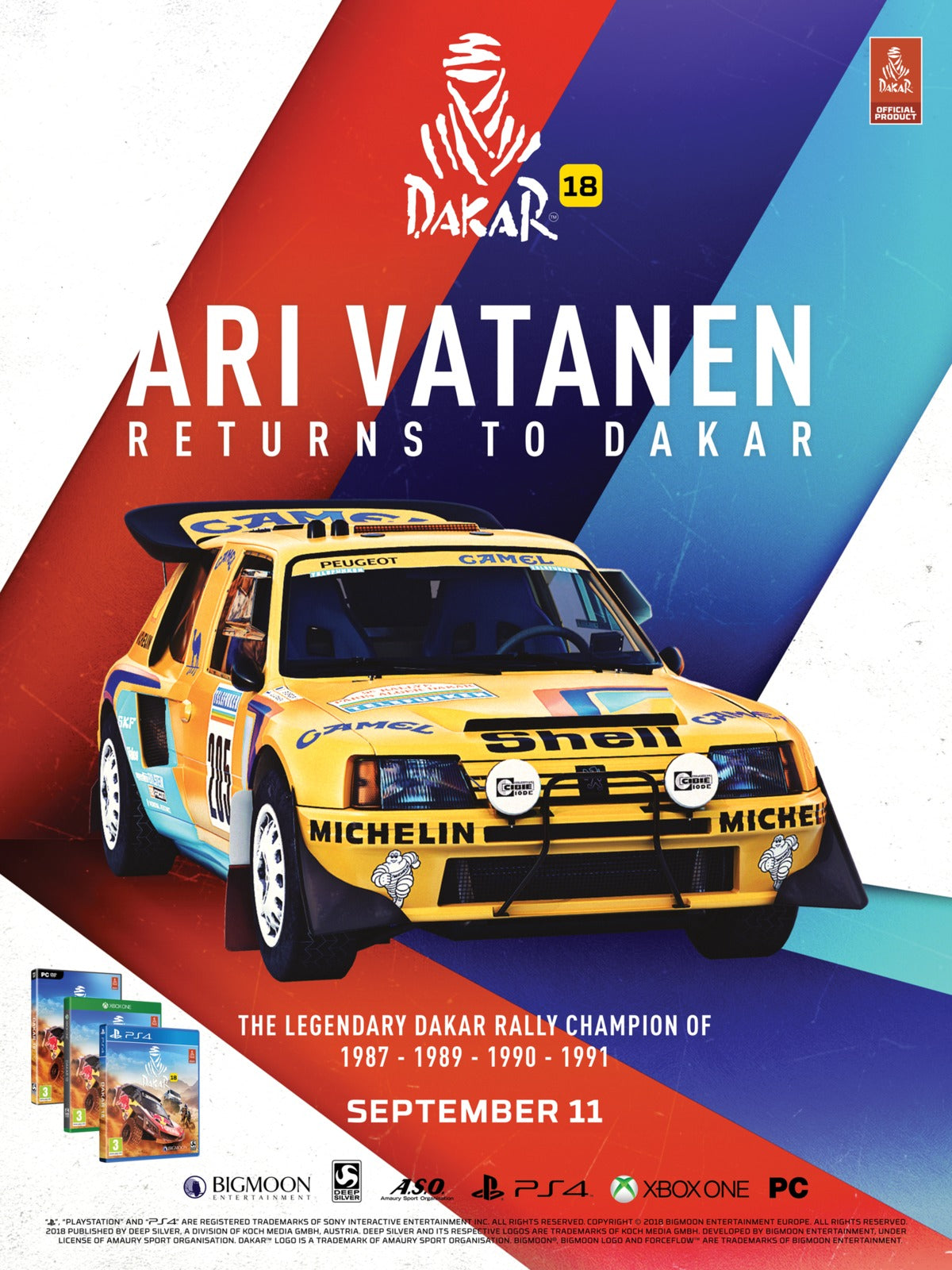 Dakar 18 Day One Edition - PS4