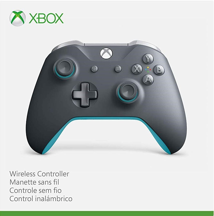 Xbox One Wireless Controller - Grey and Blue - Xbox One