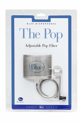 Blue Microphones The Pop Universal Pop Filter - Silver