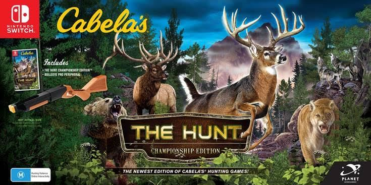 Cabela's: The Hunt Championship Edition bundle - Nintendo Switch