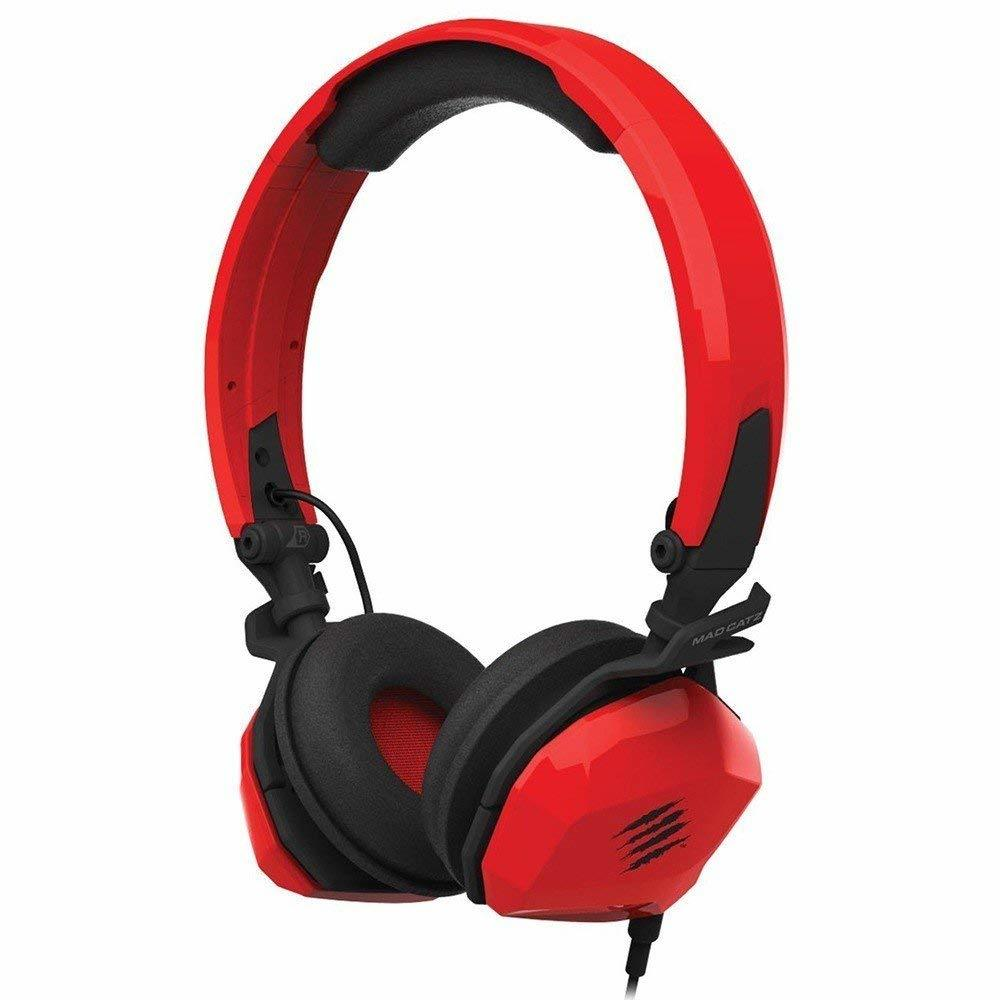 Mad Catz F.R.E.Q M Wired Gaming Headset (Red)