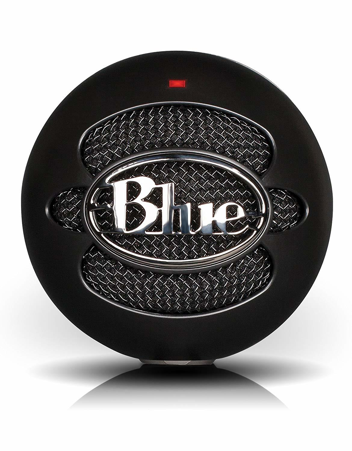 Blue Microphones Snowball iCE USB Condenser Microphone (Black) - PC Games
