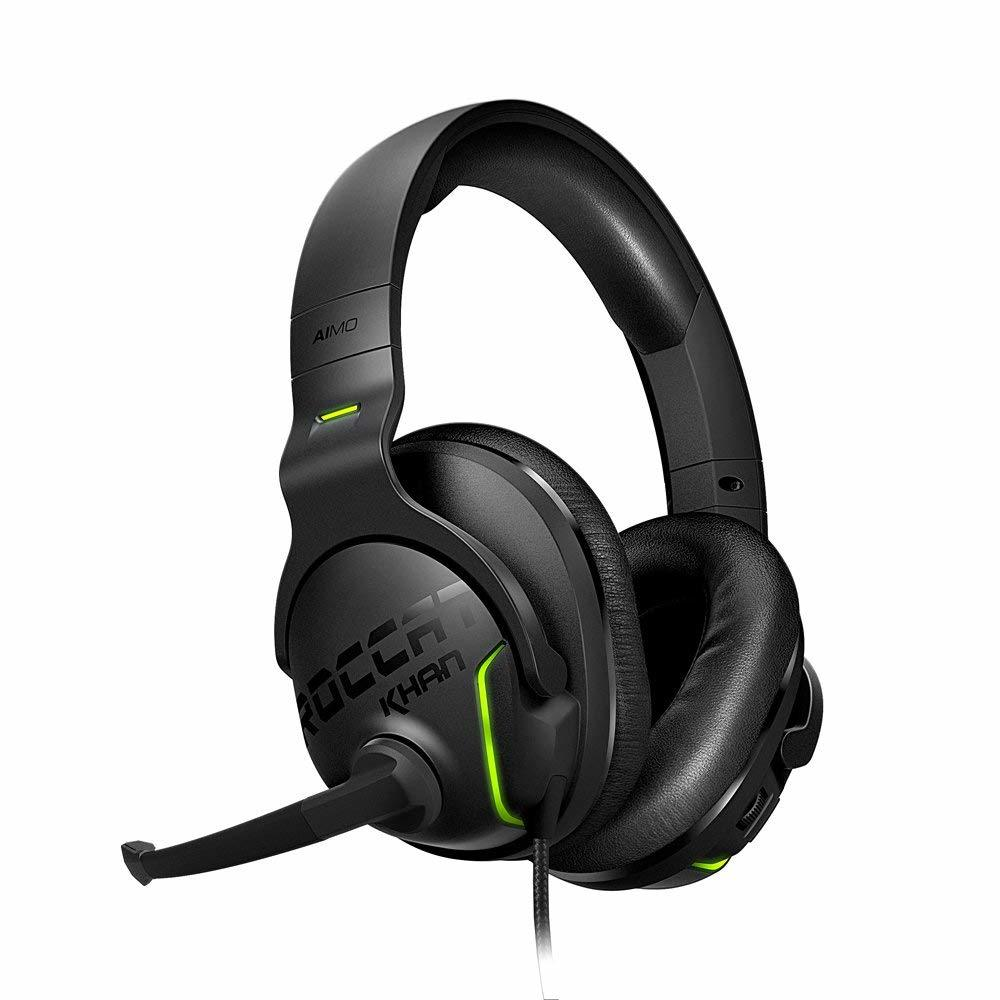 ROCCAT Khan Aimo 7.1 RGB Gaming Headset - PC Games