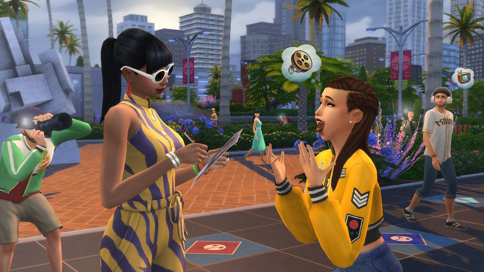The Sims 4 Get Famous (code in box) - PC Games