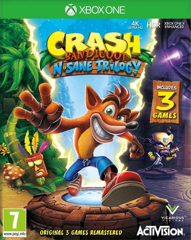 Crash Bandicoot N-Sane Trilogy - Xbox One