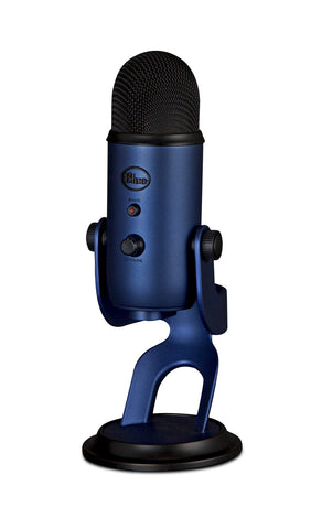 Blue Microphones Yeti Multi-Pattern USB Microphone (Midnight Blue)