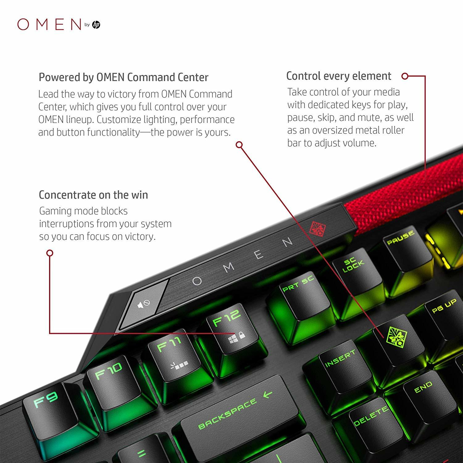 OMEN Sequencer Mechanical Gaming Keyboard - PC Games