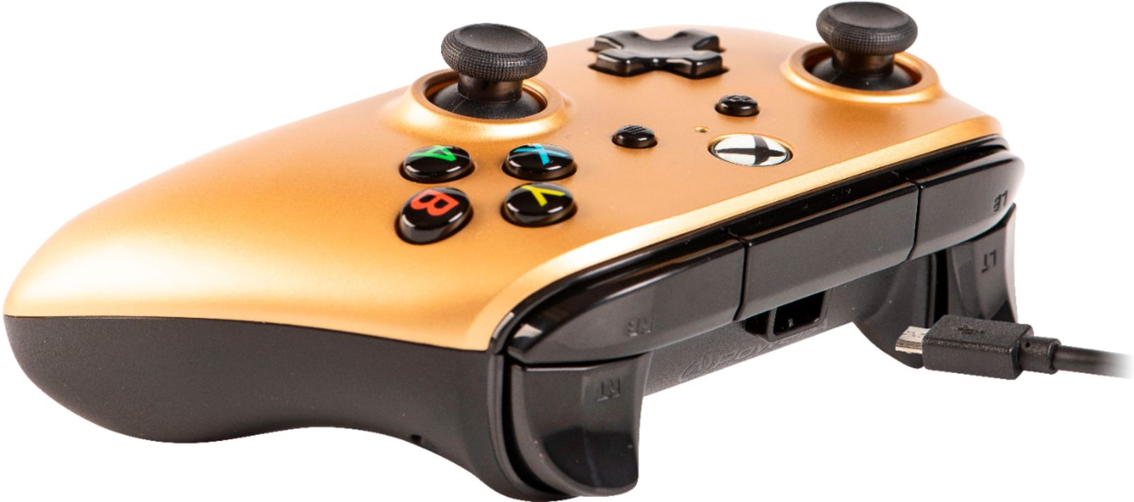 Xbox One Enhanced Wired Controller - Gold - Xbox One