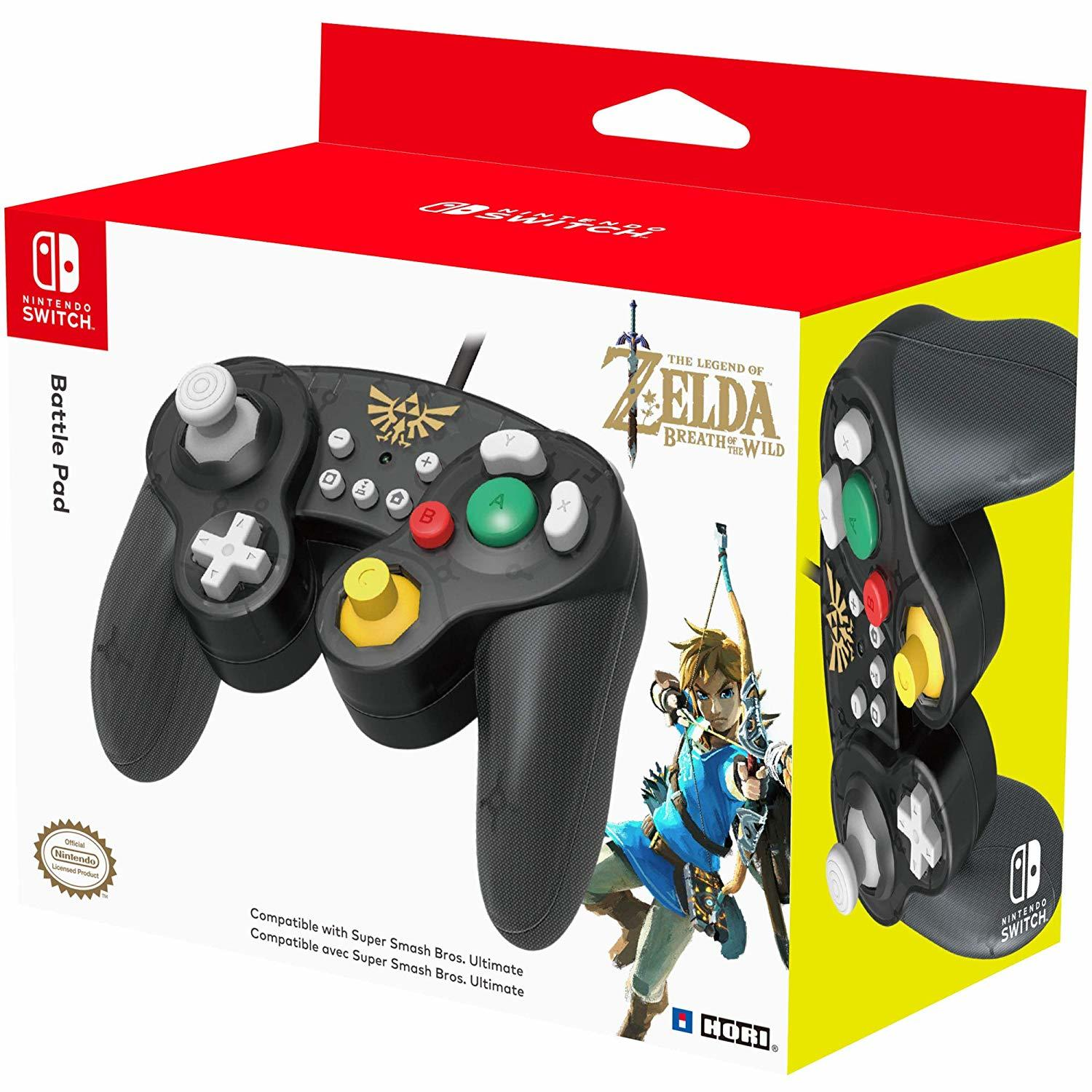 Nintendo GameCube Controller Super Smash Bros Edition (Zelda) - Nintendo Switch