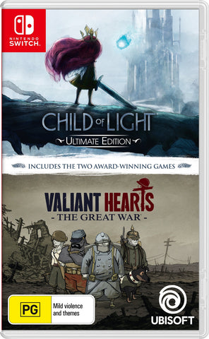 Child of Light + Valiant Hearts - Nintendo Switch