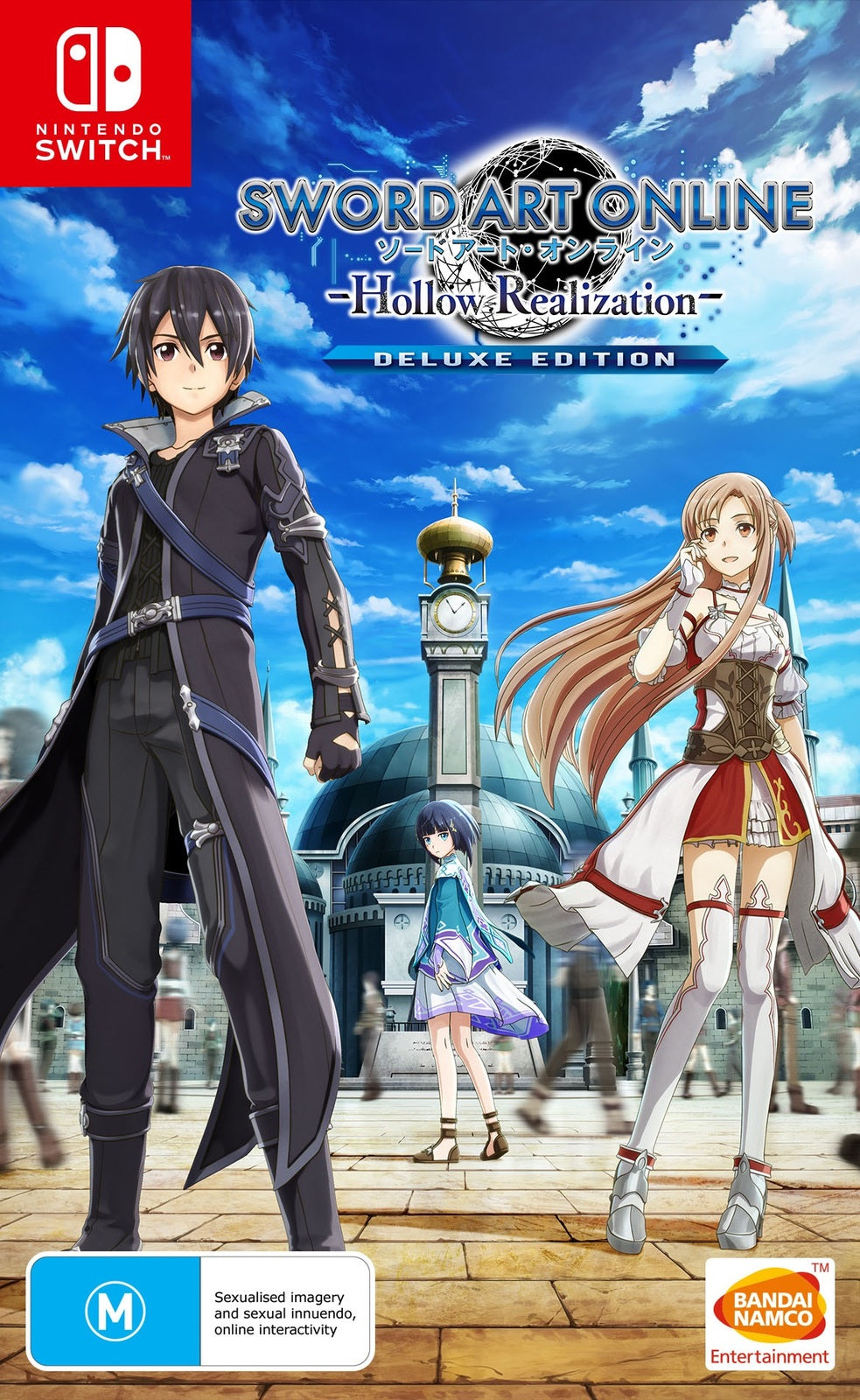 Sword Art Online: Hollow Realization Deluxe Edition - Nintendo Switch