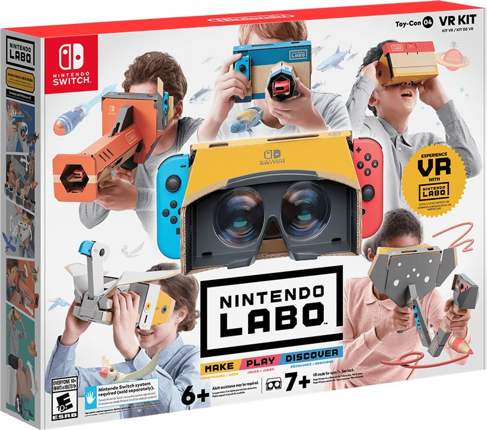 Nintendo Labo: VR Kit Complete - Nintendo Switch