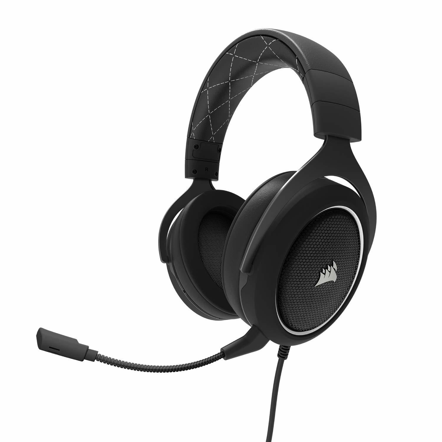 Corsair HS60 Surround Gaming Headset (White) - PC Games