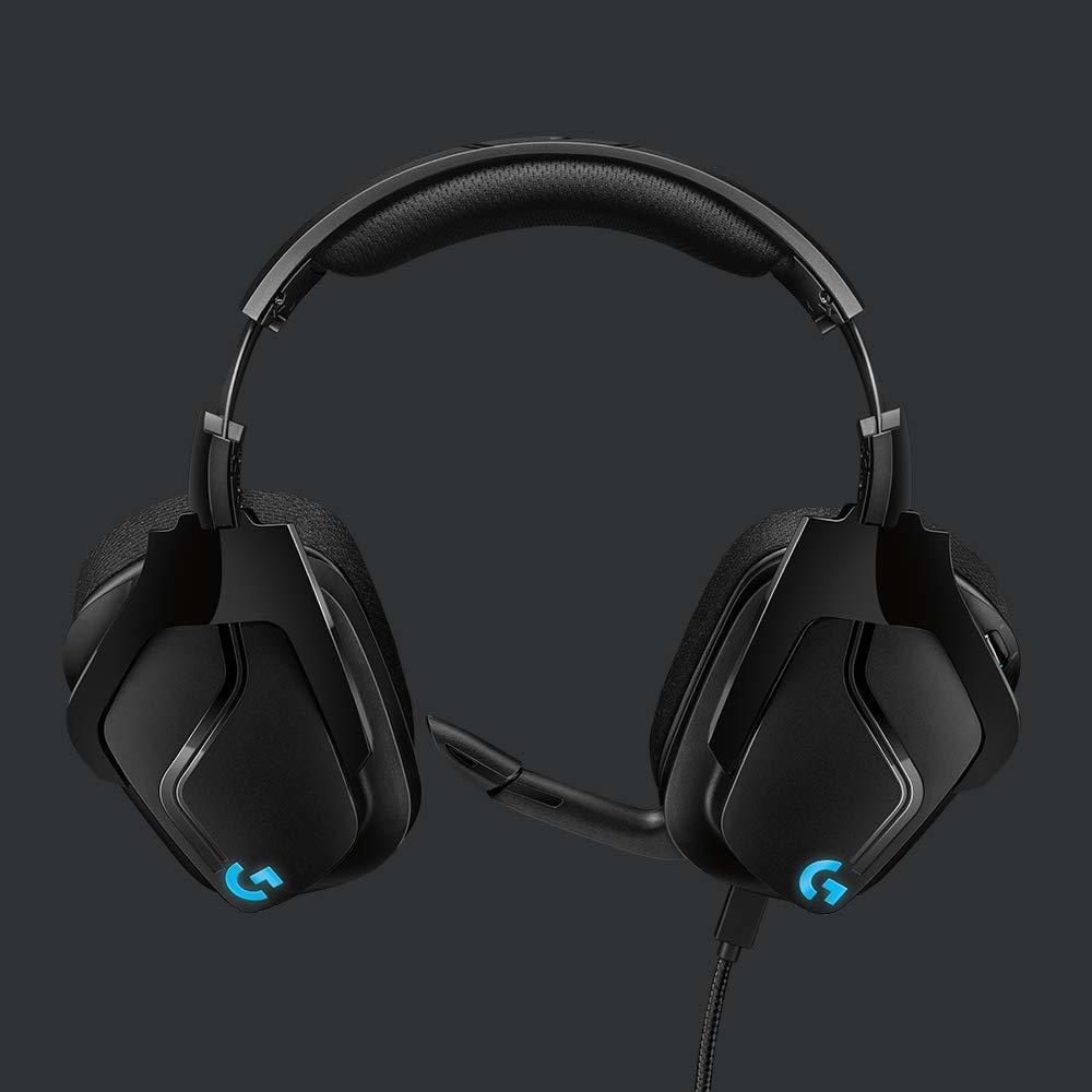 Logitech G635 7.1 Surround Sound Lightsync Gaming Headset - PC Games