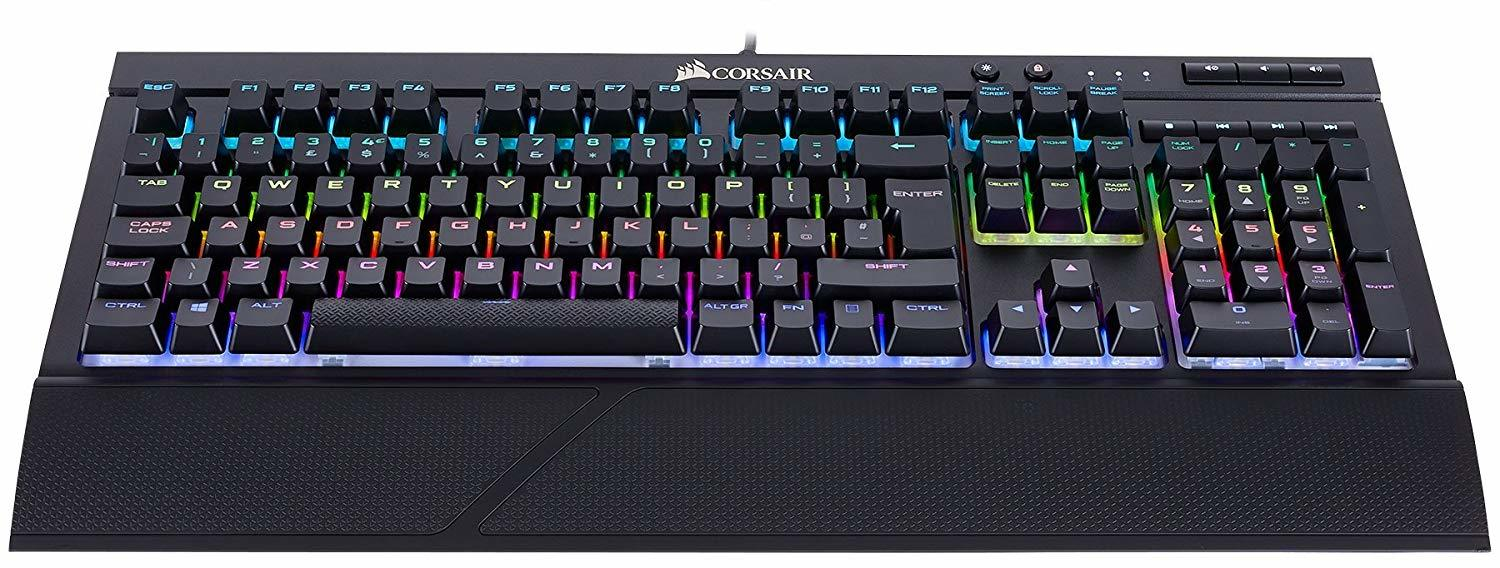 Corsair K68 RGB Mechanical Gaming Keyboard (Cherry MX Red) - PC Games
