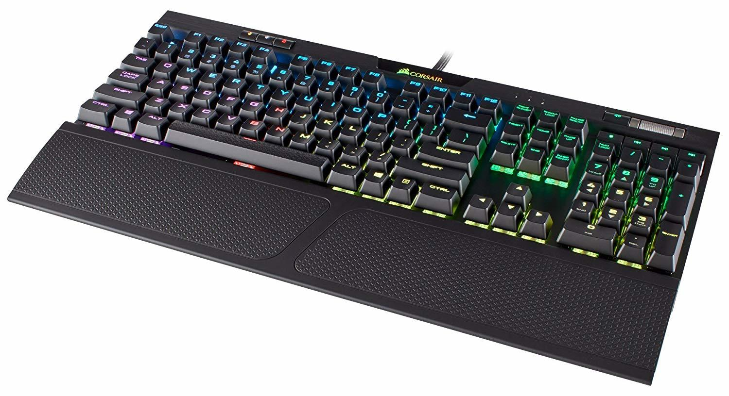 Corsair K70 RGB MK.2 Mechanical Gaming Keyboard (Cherry MX Silent) - PC Games
