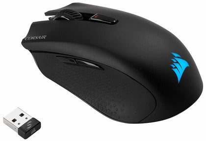 Corsair Harpoon Wireless RGB Wireless Rechargeable Optical Gaming Mouse - PC Games