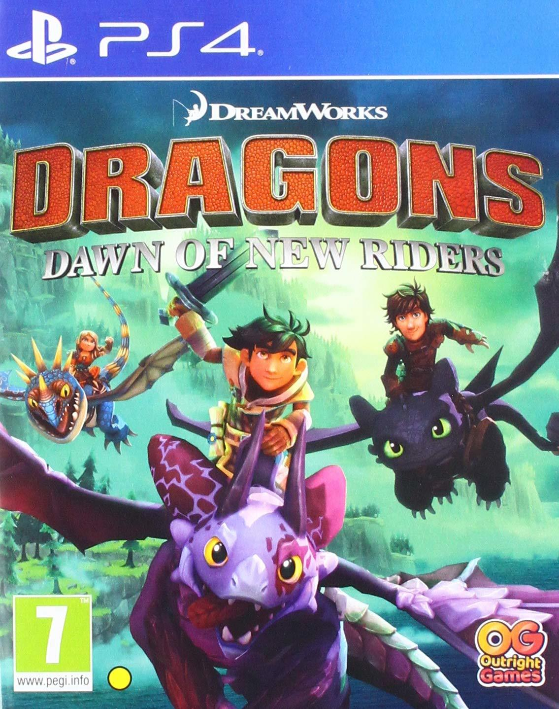 Dragons Dawn of New Riders - PS4