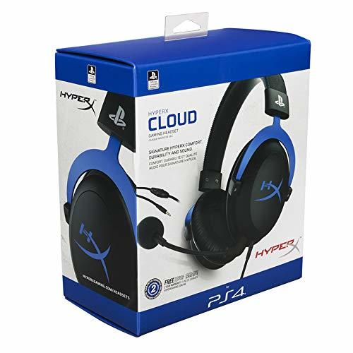 HyperX Cloud PS4 & PS5 Blue Gaming Headset - PS5