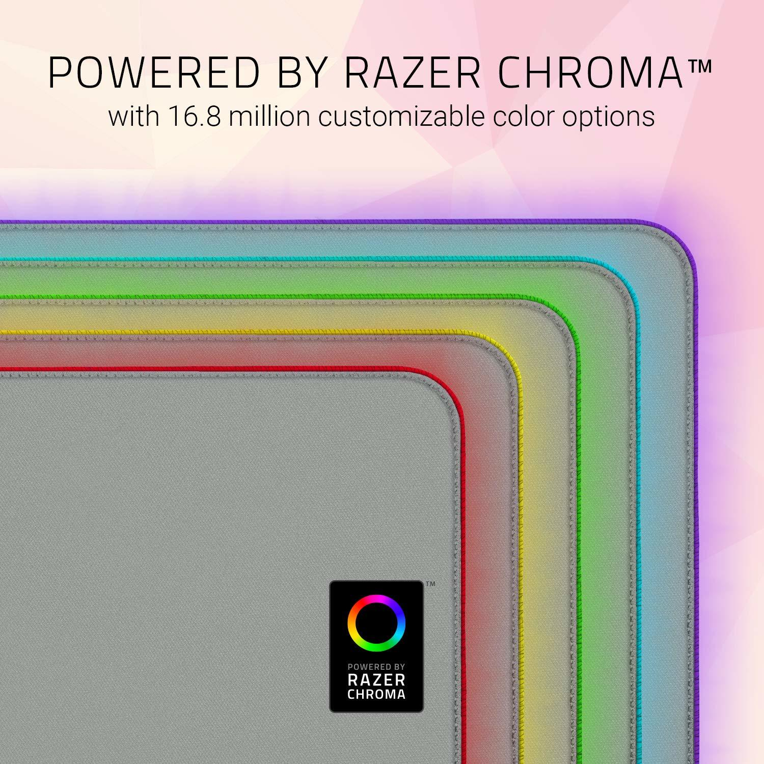 Razer Goliathus Chroma Extended Soft Gaming Mouse Mat (Quartz) - PC Games