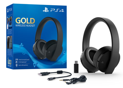 PlayStation Gold Wireless 7.1 Gaming Headset - PS4