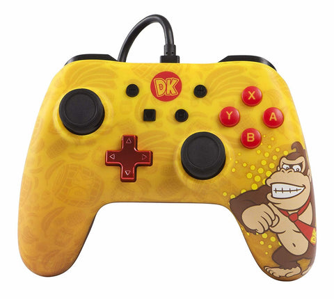 Nintendo Switch Classic Wired Controller - Donkey Kong - Nintendo Switch