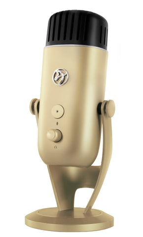 Arozzi Colonna Microphone (Gold) - PC Games