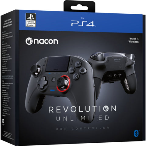 Nacon PS4 Revolution Pro Unlimited Gaming Controller (Bluetooth) - PS4