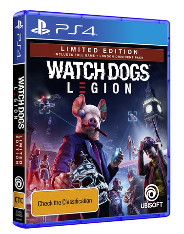 Watch Dogs Legion Limited Edition - PS4