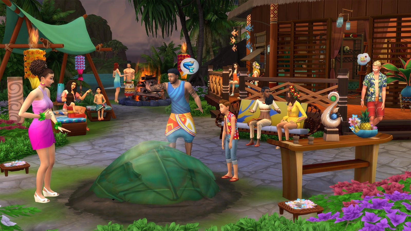 The Sims 4 Island Living (code in box) - PC Games