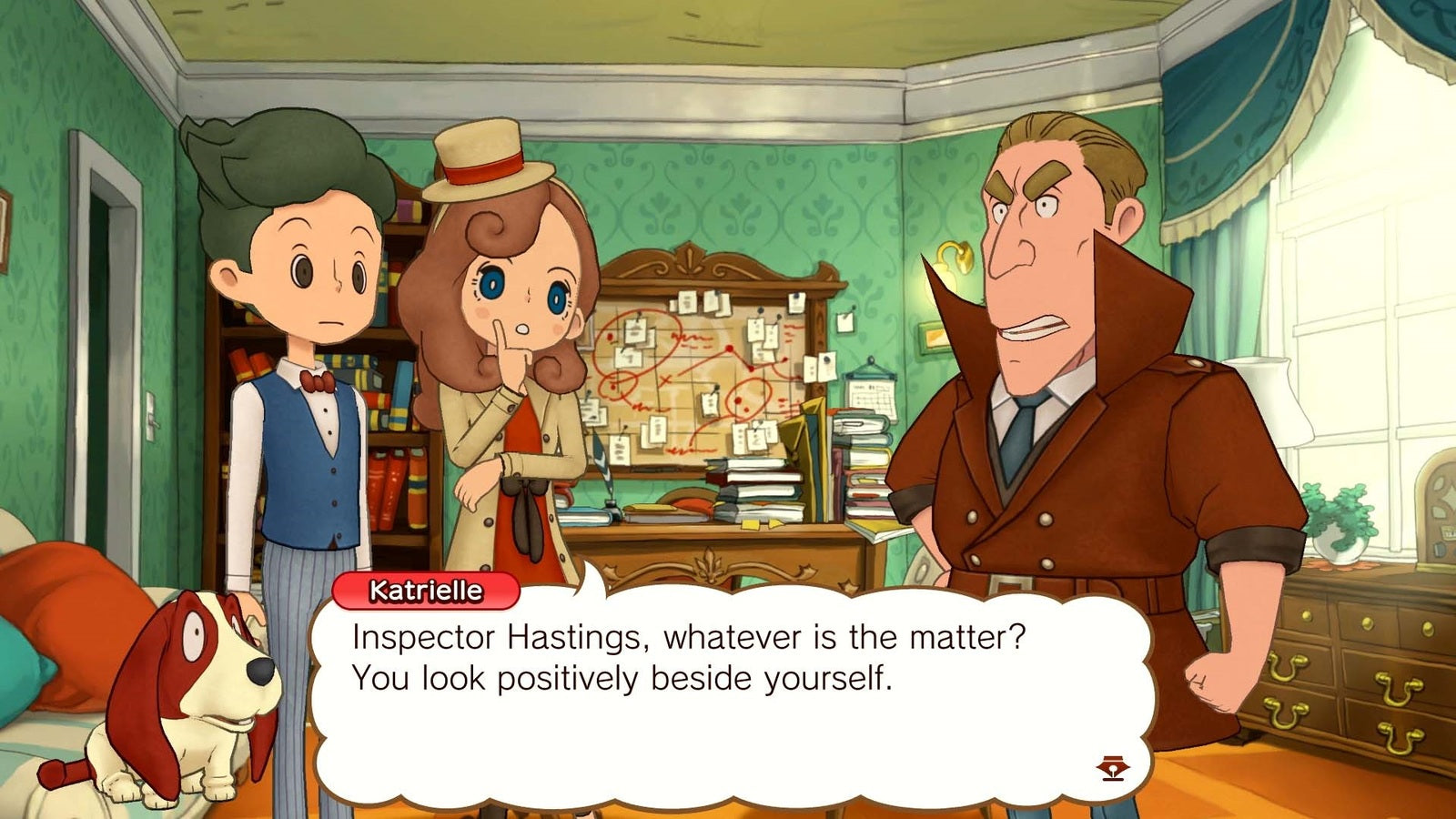 Layton's Mystery Journey: Katrielle The Millionaires Conspiracy Deluxe Edition - Nintendo Switch