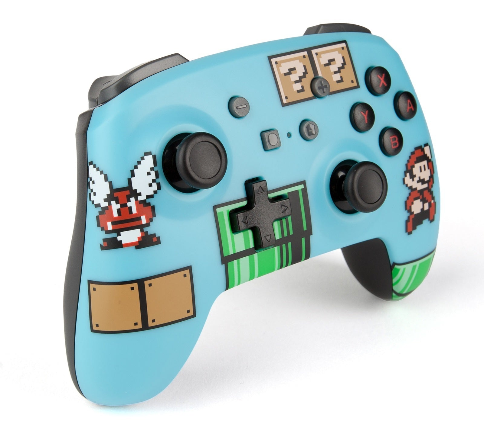 Nintendo Switch Wireless Controller - 8 Bit Mario Blue - Nintendo Switch