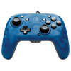 PDP Faceoff Controller Deluxe for Switch - Blue Camo - Nintendo Switch